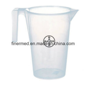 5L Transparent Medical Laboratory Plastic Measuring Mug pictures & photos