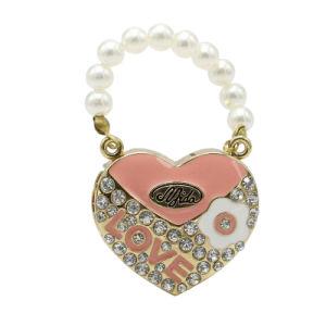 Elegant Jewelry Handbag Heart Shape USB Pen Drive for Promotional pictures & photos