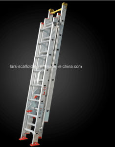 En131 Standard Multi-Purpose Telescopic Aluminum Ladder for Construction pictures & photos