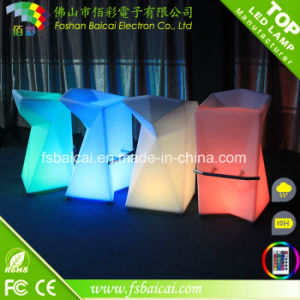 Modern LED Furniture 16 Colors Changing LED Bar Table pictures & photos