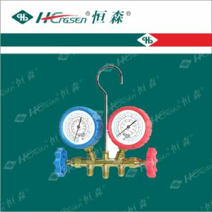 Manifold Set / Refrigeration Fittings / Refrigeration Gauge Set / Refrigeration Tools pictures & photos
