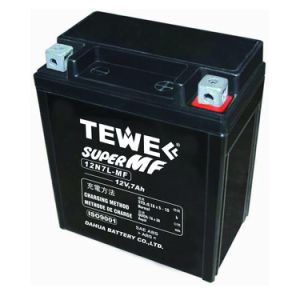 Tewe 12V 7ah Sealed Maintenance Free Motorcycle Battery pictures & photos