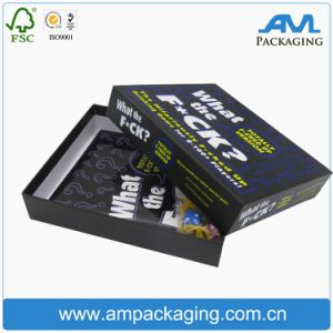 Printed Custom Two Pieces Paper Packaging Gift Box Play Card Storage Box with Lid and Base pictures & photos