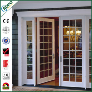 Australian Standard Double Glazed PVC Door Swing Door pictures & photos