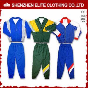 Wholesale Cheap Cotton Knitted School Uniform Sport Tracksuit (ELTTI-41) pictures & photos