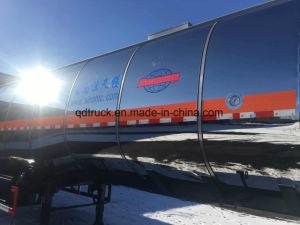 50 000 litres aluminum Edible oil tanker trailer pictures & photos