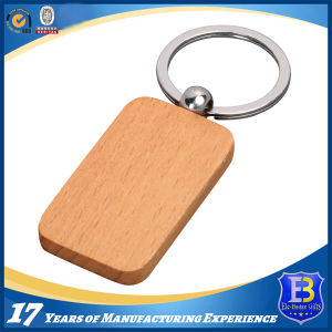 Elegant Round Wooden Keychain for Souvernir (Ele-K069) pictures & photos