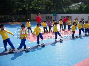 Cag PRO-Environment Kindergarten Special Floor, RoHS/Ce Modular Flooring, Interlocking Flooring, Skid Resistance Floor