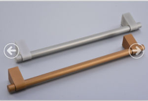 Customized Aluminium Extrusion Handle for Electronics with Silver Anodized pictures & photos