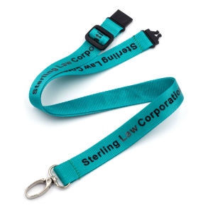 Promotional Gift Nylon Printed Lanyard pictures & photos