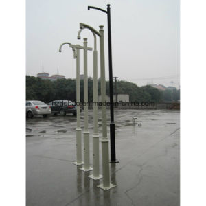 High-Quality Galvanized Telescopic Camera Pole pictures & photos