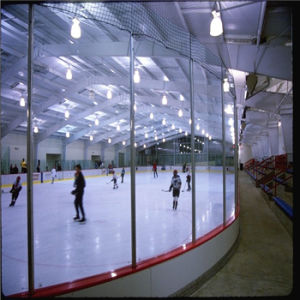 Clear Polycarbonate Glass Board for Ice Skating Floor pictures & photos