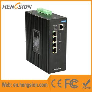 4 Megabit Ethernet 2 Gigabit Fiber Port Industrial Ethernet Switch