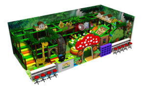 Jungle Theme Children Indoor Playground pictures & photos