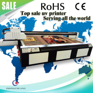2017 Latest UV Flatbed Printer for Ceramic/ Acrylic/ PVC/ Textiles pictures & photos