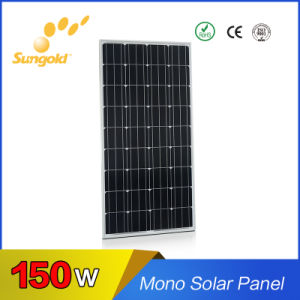 Hot Selling Panneaux Solaires Mono Solar Panel-150W pictures & photos