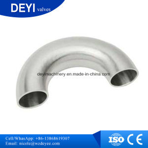 Ss304 Hygienic 180 Degree Welding Elbow pictures & photos