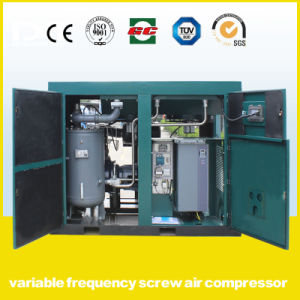 Permanent Magnetic Frequency Conversion Compressor/Double Stage Kompressor/VSD Screw Air Compressor pictures & photos