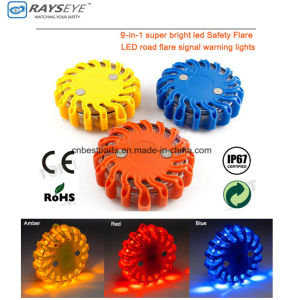 9 in 1 Warning Light Safety Light Road Traffic Light Signal Light pictures & photos