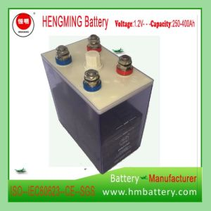 Hengming 48V250ah (1.2VKPM250) Pocket Type Nickel Cadmium Battery Kpm Series (Ni-CD Battery) Rechargeable Battery pictures & photos