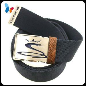 Fashion Buckle Belt Pure Cotton Fabric Men Webbing Waist Belts pictures & photos