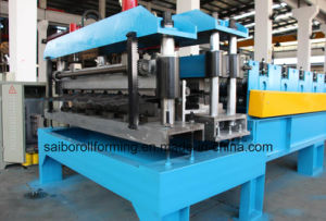 Aluminum Tile Roll Forming Machine (YX23-190-950) pictures & photos