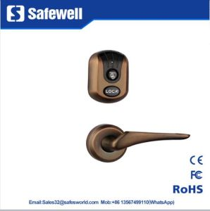 Split Zinc Alloy Red Bronze Hotel Door Lock pictures & photos