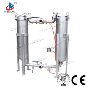 Stainless Steel Water Duplex Parallel Bag Filter Housing pictures & photos