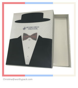 Garment Packaigng Box with 3D Lenticular Printing Lid pictures & photos