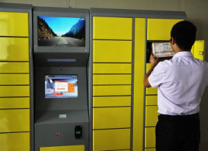 "Retail Kiosk Machine 22"" Touch Monitor, Projected Capacitive Touch pictures & photos"