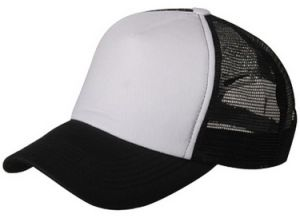 Black and White Trucker Mesh Cap pictures & photos