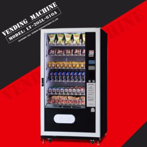 Good Quality Snack&Drinks Combo Vending Machines LV-205L-610A pictures & photos