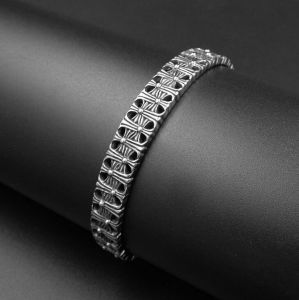 Gothic Men Bracelets 316L Stainless Steel Cuff Bangles Fashion Jewelry pictures & photos
