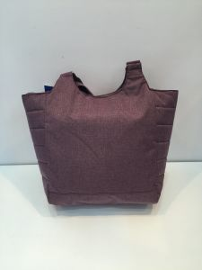 Snowflake Cloth Shopping Bags Ladies Shoulder Bags pictures & photos