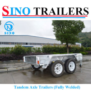 10X5 Tandem Axle Box Trailer pictures & photos