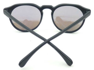F171068 Hotsale Good Price Plastic Frame Round Shape Sunglasses pictures & photos