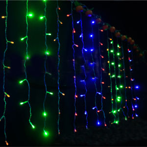 OEM Christmas Decoration 6*3m 600LED LED Curtain Light Fairy Light pictures & photos