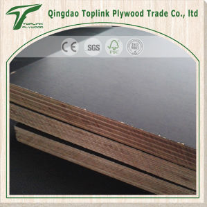Brown Black Stamped Concrete Form Plywood Poplar Material pictures & photos