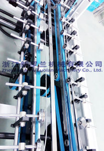 Lock Bottom Folding Box Gluing Machine (GK-780CB) pictures & photos