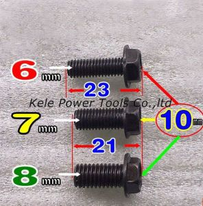 Power Tool Spare Part (Left direction bolt for Hitachi CM4SB use) pictures & photos