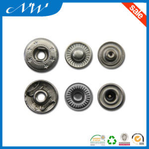 Good Quality Snap Fastener Under Three Part Button pictures & photos