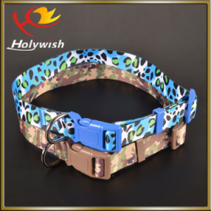 Fashion Design Dog Training Collar with Silk Screen Printed pictures & photos