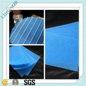 90GSM Blue Spunlace Nonwoven Fabric pictures & photos