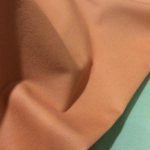 97% Cotton 3% Spandex Stretch Carbon Peach Twill Heavy Fabric