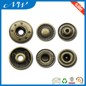 Good Quality Snap Fastener Under Three Part Button