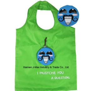 Foldable Shopper Bag, Mustache Style, Promotion, Tote Bag pictures & photos