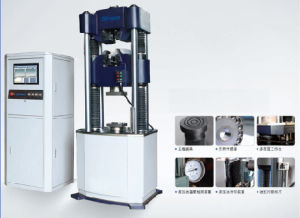 Microcomputer control electro-hydraulic servo universal testing machine of WAW-G series pictures & photos