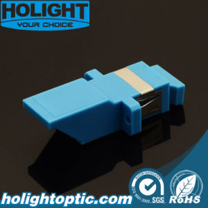 Inner Shutter Adaptor Sc Simplex Blue with Flange pictures & photos