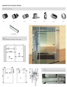 Sliding Door system for Shower pictures & photos