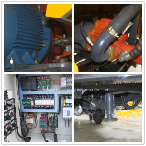 Movbile Mini Concrete Mixer with Pump Construction Machinery pictures & photos